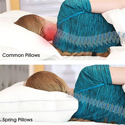 bed pillows for neck pain spring bed pillows newest breathable neck and back