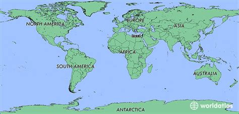 world map image israel where is israel where is israel located in the world