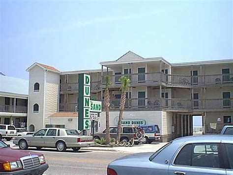 The Sand Dunes Motel in Kure Beach, North Carolina   HOME