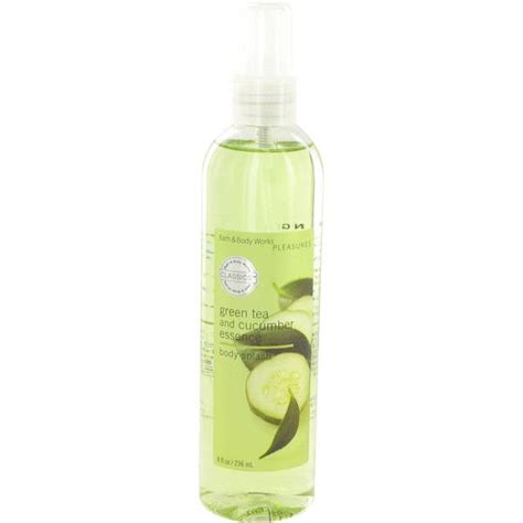 Spray Parfum Mist Green Tea Herborist 120ml green tea and cucumber essence perfume for by bath