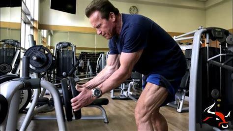 arnold schwarzenegger 2017 workout