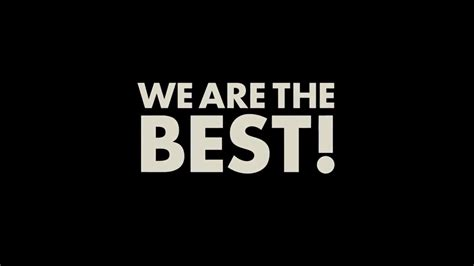 the best we we are the best quot vi 228 r b 228 st quot 2013 official trailer