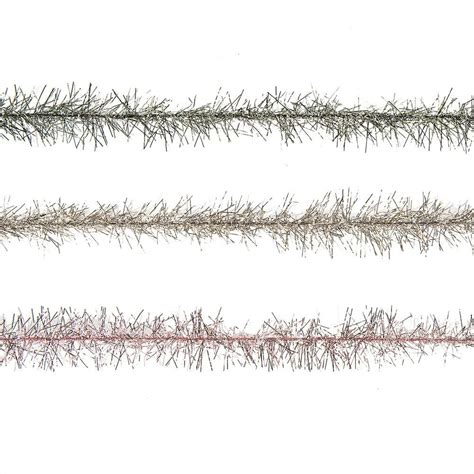 vintage christmas rope and tinsel fashioned tinsel trim garland vintage style craft theholidaybarn