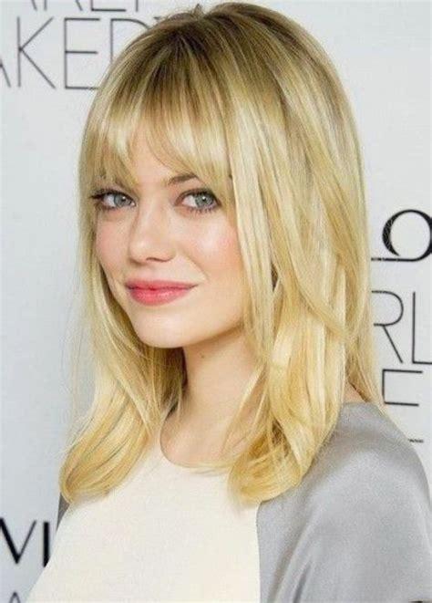 medium length piecy hair blonde layered hair with fringe inexpensive wodip com