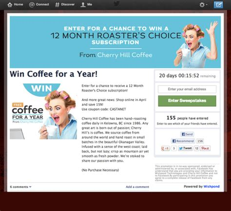 Sweepstakes On Twitter - how to run a sweepstakes contest on twitter