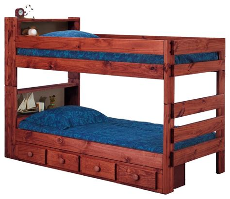 extra long twin bunk beds ameriwood extra long twin over twin bookcase bunk bed
