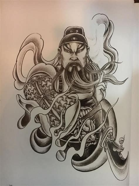 guan yu tattoo 28 best guan yu images on ideas