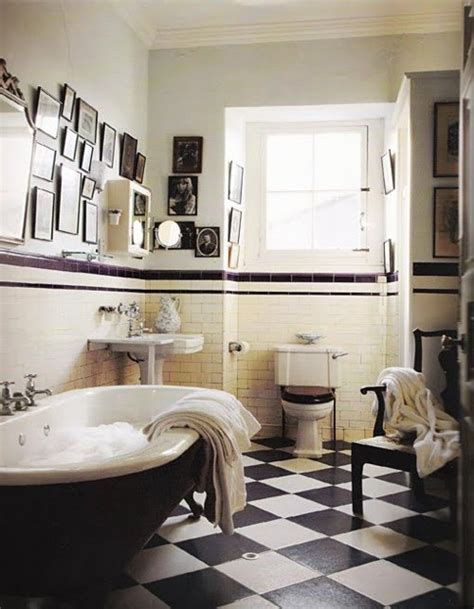 Vintage Black And White Bathroom Ideas 71 Cool Black And White Bathroom Design Ideas Digsdigs