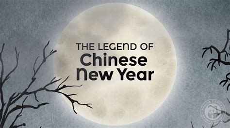 the legend of new year nian fortune tales the legend of new year
