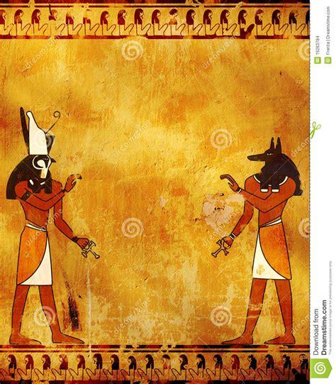 imagenes egipcias horus anubis y horus imagenes de archivo imagen 16263784