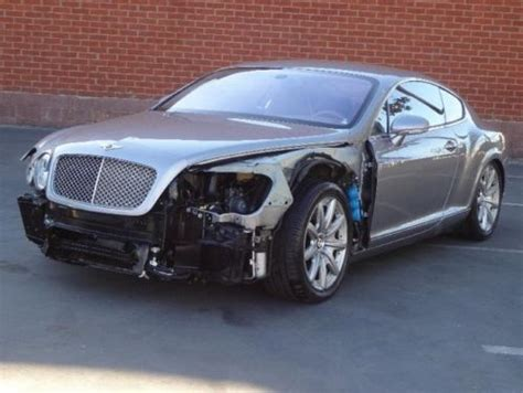 bentley v12 purchase used 2005 bentley continental gt coupe damaged