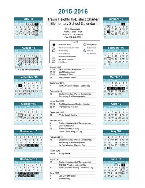 Aisd Calendar 2015 16 Aisd Calendar 2017 My