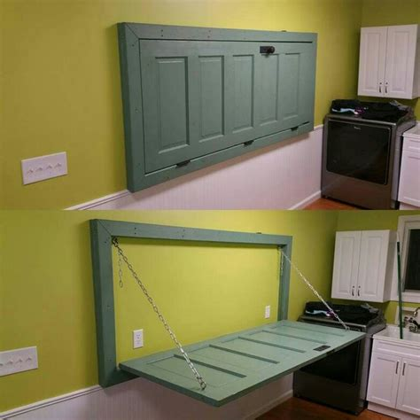 Laundry Room Folding Table Best 25 Door Tables Ideas On Pinterest Door Tables Door Bar And Door Table
