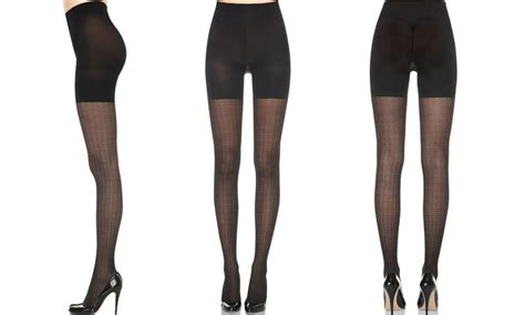 patterned tights jcpenney love your assets by spanx solid color patterned tights