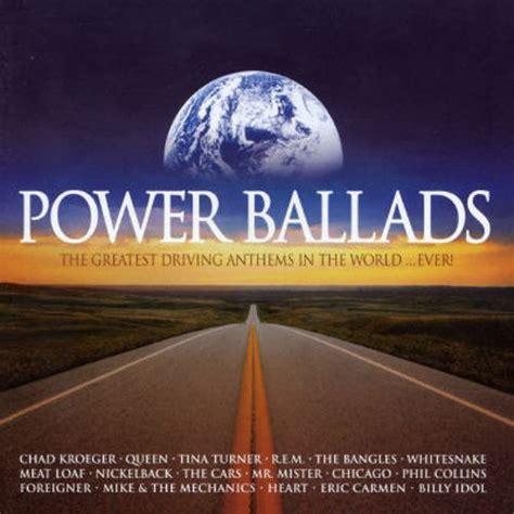 best ballads best power ballads in the world various artists