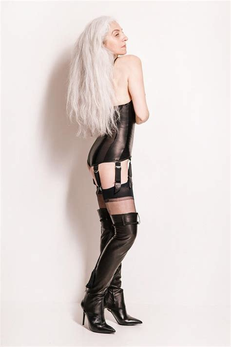 sky high thigh high black leather boot covers tenebrae