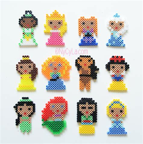 Modele Princesse Perle A Repasser princesses disney en perles hama par nycyla perles 224