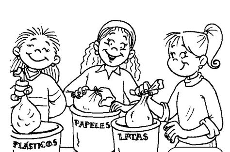 dibujos de reciclaje para colorear az dibujos para colorear rayito de colores