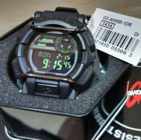 Casio Gd 100 1a By Casio Original relogio casio g shock gd 400mb 1a gd400 original em 12x s