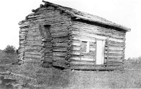 Abraham Lincolns Cabin by Lincoln Myths And Misconceptions Quiz Answer 1 Looking