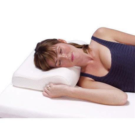 oreillers ergonomique oreiller ergonomique contact plus 169 la boutique du dos