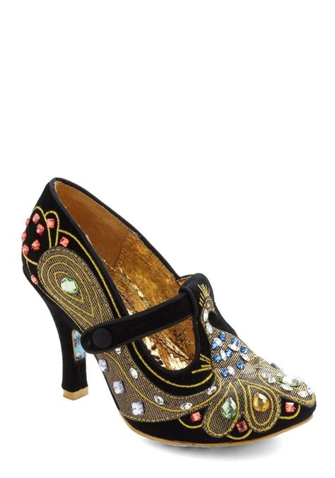 dc high heel shoes peacock pumps by irregular choice style