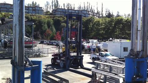boat launch edmonds wa ryan s boat lift and forklift action port of edmonds