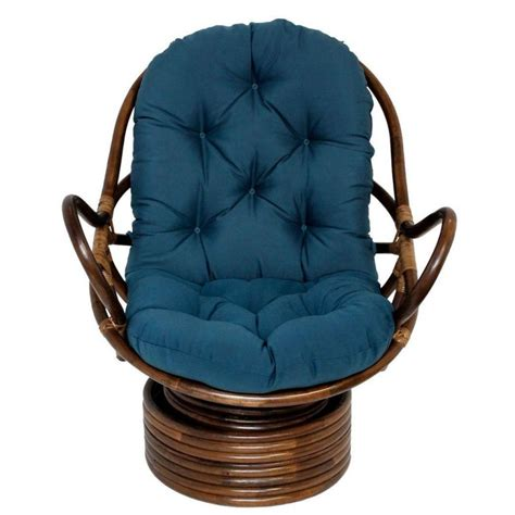 Rattan Swivel Rocker Chair Cushions Best Home Design 2018 Swivel Chair Cushions
