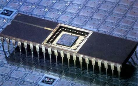 large scale integrated circuit images