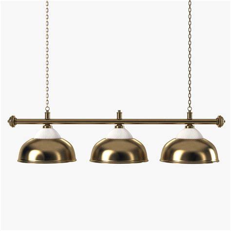 Billiard Pendant Lighting Pool Table Light 3d Max