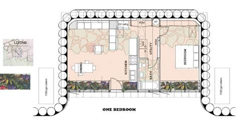 earthship floor plans earthship com packaged model our dream home pinterest