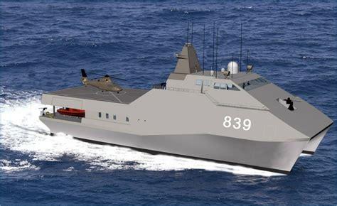 catamaran military ship military 54m catamaran aurora marine design
