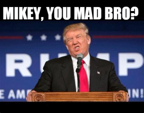 Mikey Meme - meme creator mikey you mad bro meme generator at