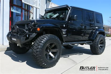 jeep wheels and tires jeep wrangler with 20in fuel beast wheels and toyo open