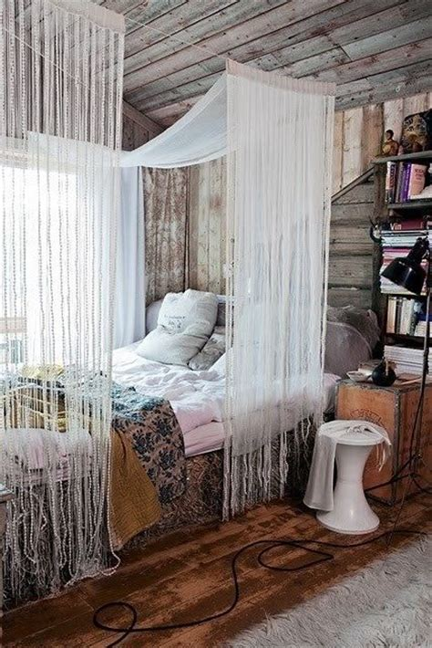drapes over bed i love the curtains over the bed new room pinterest
