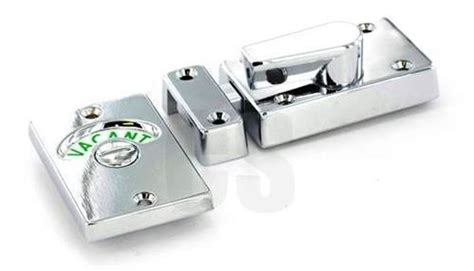 Home Goods Decorative Accessories securit s2947 chrome vacant engaged indicator bathroom