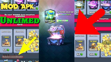 download game mod clash royale apk clash royale mod apk no root download unlimed youtube