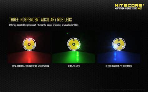 Nitecore Mh27 Senter Led Cree Xp L Hi V3 1000 Lumens nitecore mh27 senter led cree xp l hi v3 1000 lumens