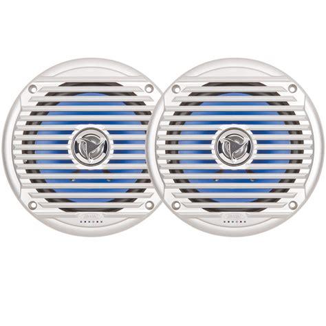 jensen boat speakers jensen 6 5 quot inch round marine waterproof outdoor boat coax