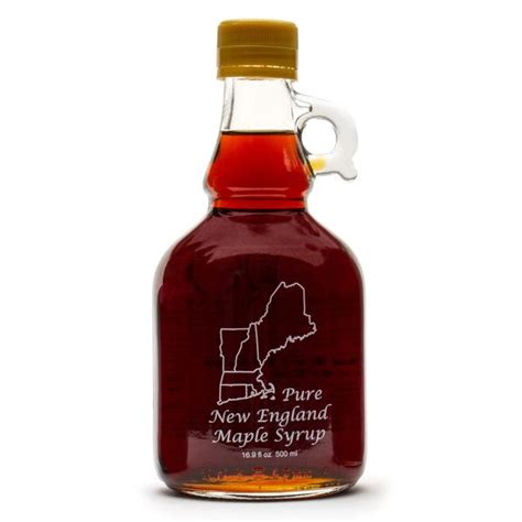 Histrine Syrup maple syrup in 16 9 oz new glass jug bens sugar