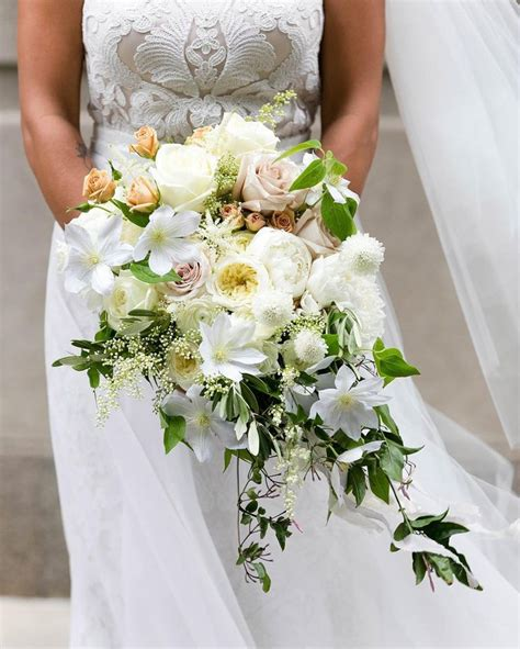 Wedding Bouquets Bc by This Overgrown Cascading Bouquet That Fleurinc Created