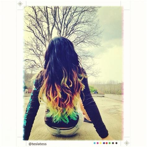 what to be careful for when dying thin hair ombre hair dip dyed with kool aid shelby s board