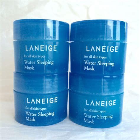 Laneige Water Sleeping Mask Trial Kit 15ml laneige water bank trial kit essence 10ml