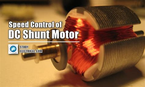 speed of dc shunt motors studyelectrical