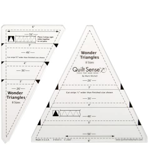 quilt sense triangles jo