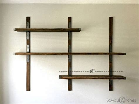 Strong Wall Shelf by 1000 Ideas About Wall Mounted Shelves On