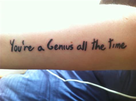 you re a genius all the time belief and technique for modern prose ebook you re a genius all the time contrariwise literary tattoos