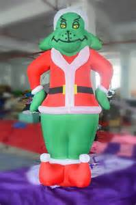 2014 newest inflatable grinch christmas decoration china mainland
