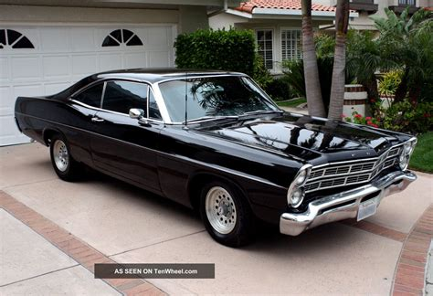 old ford cars ford galaxie 1967 classic muscle car