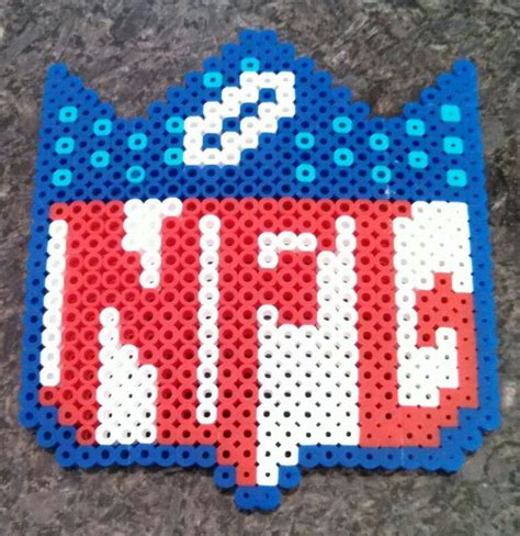 perler sports nfl football perler things that i